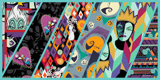 lularoe villains and the nightmare before prints are