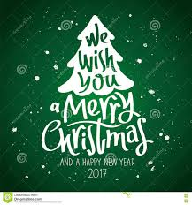 we wish you a merry stock vector illustration of