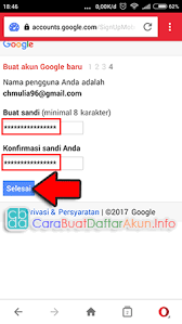 buat akun google bru contoh gambar langkah langkah buat akun google baru 1 2 3 4 gimana