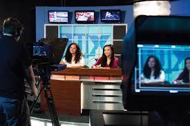 tv studio desk achieve the american study dream with lander university study