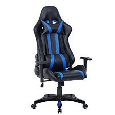 Chairs That Recline Amazon Com Giantex Executive Racing Style High Back Reclining