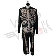 Skeleton Suit Halloween by Donnie Darko Costume Size Large Skeleton Suit Halloween