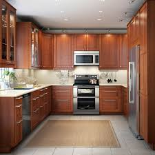 kitchen design brown u shaped kitchen design with led cabinet