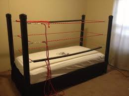 how to make a diy wwe wrestling bed under 100 snapguide