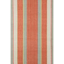 Stripe Area Rug Flooring Charming Dash And Albert Rugs Woven Orange Autumn Stripe