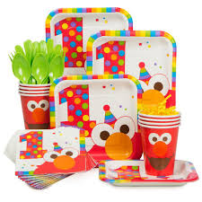 1st birthday party supplies elmo 1st birthday party supplies theme party packs