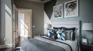 chambre taupe et decoration chambre taupe et bleu visuel 7