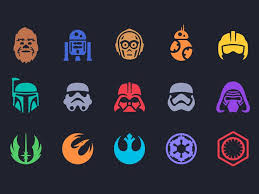star wars icons star wars icons parakeets icons