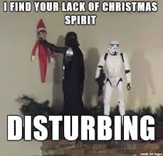 Disturbing Memes - i find your lack of christmas spirit disturbing ugly christmas
