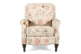 ashley placido script high leg recliner mathis brothers furniture