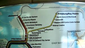 Bart Lines Map by Bart Train Map 2011 Youtube