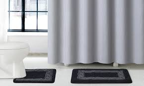 Bathroom Sets With Shower Curtain And Rugs And Accessories 56 Off On 15 Piece Gala Luxury Bath Set Groupon Goods