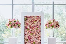 wedding backdrop flowers wedding flower walls backdrops southbound