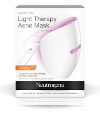 blue and red light therapy for acne therapy acne mask