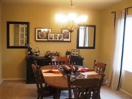 kitchen simple dining room arrangement ideas brown curtain