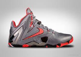 nike lebron xi elite team wolf grey crimson price 165 00