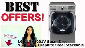 Gas Clothes Dryers Reviews Lg Gas Steam Dryer Lg Dlgx8001v 29