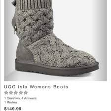 ugg womens isla boots 23 ugg shoes ugg isla s boots size 8 from jenica s