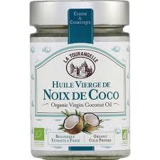 huile de noix de coco cuisine la tourangelle huile vierge de noix de coco bio monoprix fr