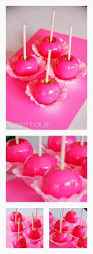 candy apple supplies wholesale neon hot pink candy apples sweethaute sweethaute
