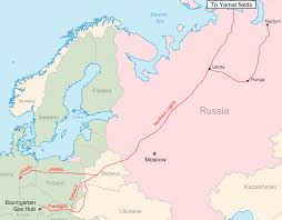 northern lights location map northern lights pipeline wikipedia