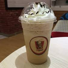 Coffee Kfc salted caramel latte frappe by alainlicious eats