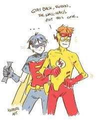 Yj Anon Meme - 208 best dc comics wally west and dick grayson images on pinterest