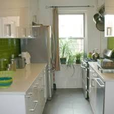 colorful glass subway tile backsplash for kitchen with green and