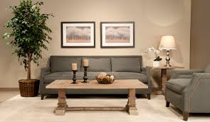 accent living room tables living room zoom wood table simple candles basket light brown grey