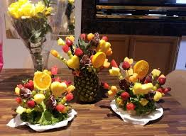 how to make fruit arrangements jewelry designer interrupted to make edible floral arrangements