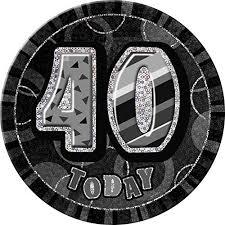 40th Bday Decorations 40th Birthday Decorations Amazon Co Uk