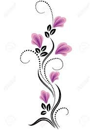 decorative flowers ornament royalty free cliparts vectors and
