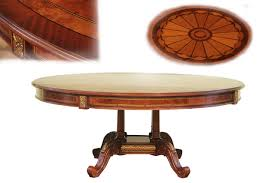 Mahogany Dining Room Table And Chairs by Affordable Round High End Dining Table Mahogany And Walnut
