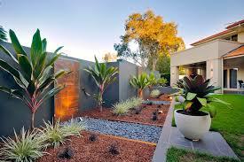 modern landscape plants landscape modern with wood siding rock garden
