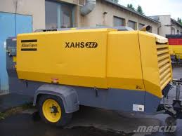 used atlas copco xahs 347 cd compressors year 2008 for sale