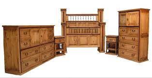 Rustic Bedroom Furniture Prices Landaluce Cm7811 Bedroom Collection Wood Wrought Iron