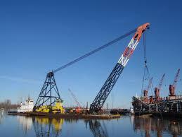 Crofton Acquires Heavy Lift Crane Derrick