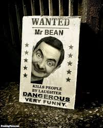 mr bean wanted poster pictures freaking news
