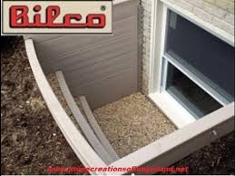 Basement Well Windows - bilco scapewel egress window how to stone creations of long