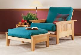 futon chair and ottoman woodworking plan from wood magazine