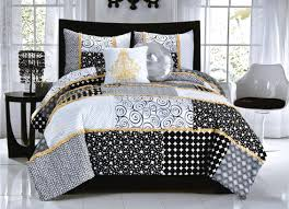 Cynthia Rowley Bedding Collection Aloha Bed Sheets Black And White Tags White Bedding With Black