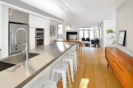 stainless steel kitchens modern kitchen wooden accents in a white kitchen with stainless