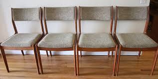 mcm danish dining chairs 2 picked vintage