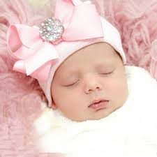 baby bling bows europe infant hat baby acccessories bling bow knitted hat kids