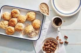 hominy grill sausage gravy u0026 biscuits recipe myrecipes