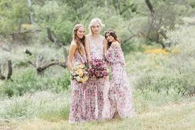 print bridesmaid dresses gorgeous floral print bridesmaid dresses for wedding lunss couture