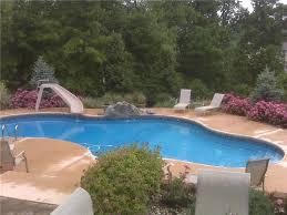 Backyard Pool With Slide - image gallery gallery lipps pools u0026 spas inc florence ky 859