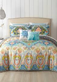 Belk Duvet Covers Jessica Simpson Aquarius Comforter Mini Set Belk
