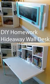 Organized Desk Ideas Attractive Hideaway Desk Ideas 30 Diy Organizing Ideas For Kids