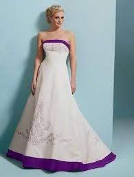 wedding dress trim white wedding dress with purple trim naf dresses